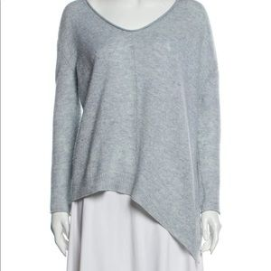 INHABIT Cashmere Scoop Neck Pullover Sweater P